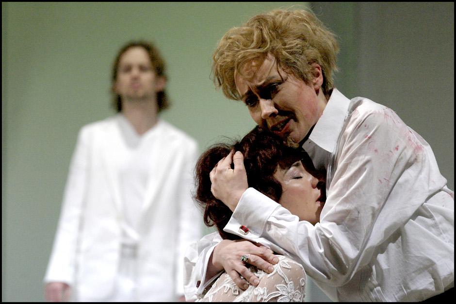 Ich als Idamante mit Ilia ( Marietta Zumbült)