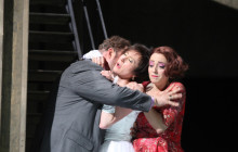 George Gagnidze / Don Giovanni, Ich / Zerlina, Johanna Stoikovic / Donna Elvira